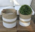 Wunderschöne Körbe aus Seegras (Set)