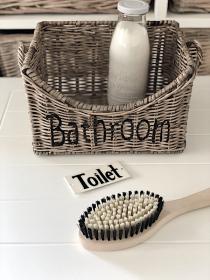 Aufbewahrungskorb, Bathroom, Rattan, Korb