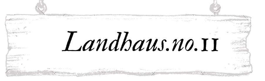 Landhaus.no.11- Landhausdeko und Korbwaren-Logo